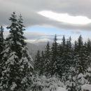 Razgled na Uršljo goro v oblaku