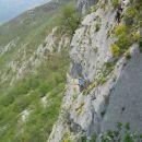 Plezalci v steni