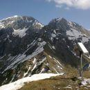 Razgled iz vrha na prečudovito Kaninsko pogorje