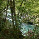 Spust do reke Soče