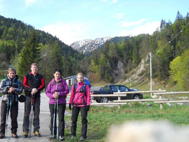 Izhodišče Žabnice/Camporosso in Valcanale