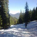 Pot proti Višarski planini