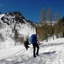 Pot čez Višarsko planino