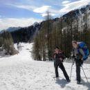 Malo nad Višarsko planino, kjer se nam začnejo odkrivati prečudoviti razgledi