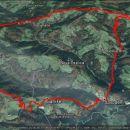 20,4km in 1020m skupnega vzpona in toliko spusta.