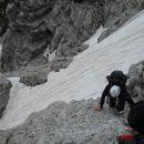 Slovenska smer čez severno triglavsko steno