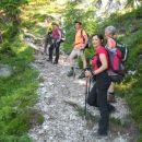 Pot proti Vrtaški planini