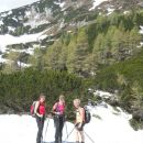 Pot na Sleme (zadaj vrh Slemena)