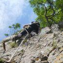 Zavarovana plezalna pot na Boč