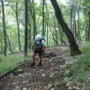 Nadaljnja pot na vrh Boča