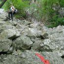 Pot proti plezalnemu delu