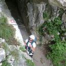 Plezalna pot Velike Pećine