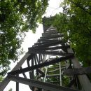 Pogled navzgor na razgledni stolp