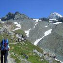 Vzpon proti koči Stüdlhütte in razgled na Großglockner