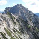 Pogled s poti na Mrzlo goro