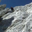 Plezalna pot na Koroško Rinko čez Križ