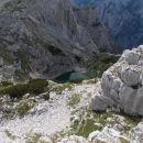 Razgled s poti na Spodnje Kriško jezero