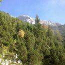 Kmali se nam prikažejo pobočja Debelega vrha