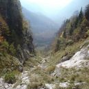 Pogled v dolino.