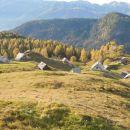 Razgled nazaj na Planino Krstenico
