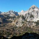 Razgled s poti na Prevalski Stog, Debeli vrh, Škednjovec, Mišelj konec, Mišelj vrh