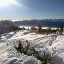 Razgled s poti na bohinjske gore