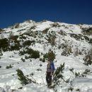 Vzpon na Viševnik ter razgled proti vrhu in na celotno južno pobočje