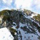 Razgled iz poti proti vrhu Debele peči