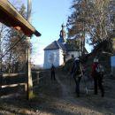 Cerkev Sveti Florjan nad Gornjim Gradom (743m)
