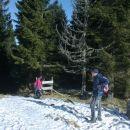 In končno pridemo iz gozda na sonček :)