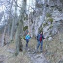 Spust proti Gornjemu gradu čez Borovnico