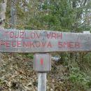 Izhodišče v Bresternici (Šoberjev dvor) ; (319 m)
