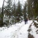 Pot na Žavcarjev vrh