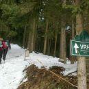 Nadaljnja pot na Žavcarjev vrh