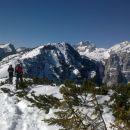 Pot na Debelo peč in razgled na Draška vrhova, Brda, Triglav in Rjavino