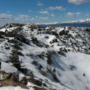 Pot proti glavnemu vrhu Ratitovca