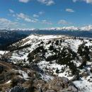 Razgled z vrha na Julijske alpe