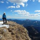 Razgled z vrha na Blegoš