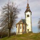 Pogled na cerkev Svetega Andreja