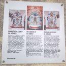 Tabla na cerkvi Svetega Ožbolta