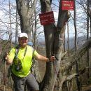 Nadaljnja pot v smeri Gontarske planine