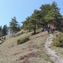 Spust z Gontarske planine proti Domu na Govejku