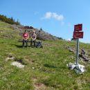 Počitek pred vzponom na Mali Grintovec