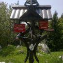Zvonček želja ob poti :)