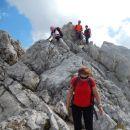 Pot proti zahodnemu vrhu Malega Draškega vrha