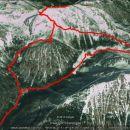 Srednji vrh in Vrtača 14km in 1731 m skupnega vzpona