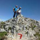 Konec zavarovane plezalne poti na Stol