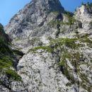 Razgled s poti na severno steno Plešivca