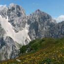 Razgled z vrha na Jalovec