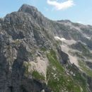 Razgled z vrha na Pelc nad Klonicami